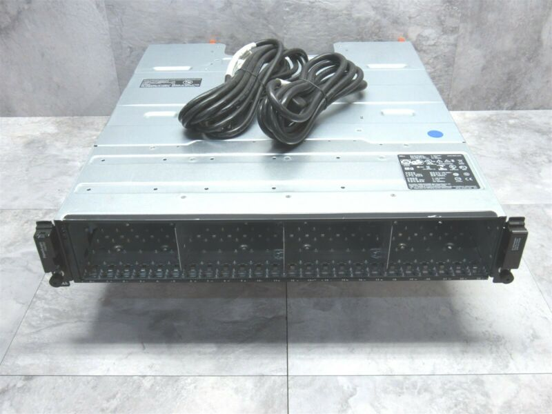 """Dell EqualLogic PS6100 3.5"""" 24 Bay ISCSI SAN Storage Array w/ 2x Controllers"""