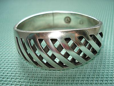 Armreifen Silber 925 breit, Handarbeit 70 Gr.