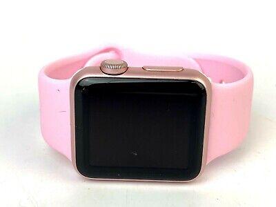 Apple Watch 1st Gen Rose Gold Aluminium Pink Sports Band, 38mm GPS WARRANTY
