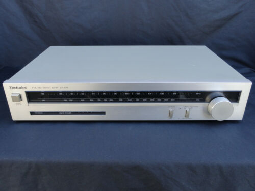 TESTED & WORKING TECHNICS ST-S16 STEREO FM/AM TUNER MADE IN JAPAN