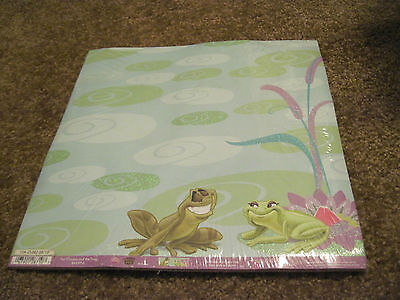 Scrapbooking Crafts 12 X 12 Paper Disney Frog And The Princess Disney Princess 12x12 Paper