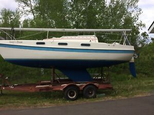 7.5 Tanser Sailboat (approx 25 FT)