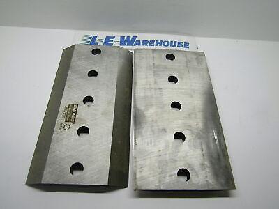 Chipper Knifes 2 Pk 10 X 5-12 X 58 - 5 Holes - Bandit Rayco Vermeer
