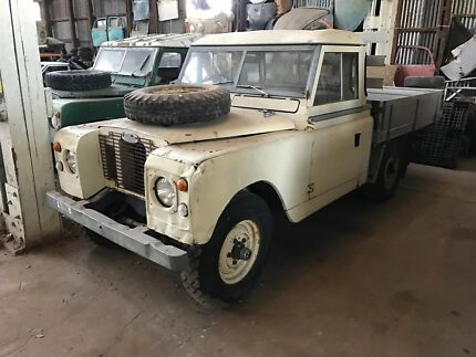1970 Land Rover Series 2A Trayback
