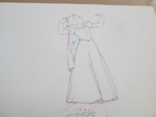 Snow White 1937 Disney cel production  Drawing