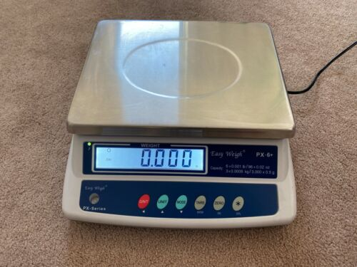 EasyWeigh PX-6-PB+ Legal for Trade Scale, 6 x 0.001 lb