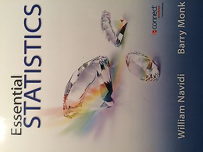 College Math Paperback Textbook  Essential Statistics  Text Only  1St Edition