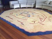 Large Pure Wool Floor Rug Surfers Paradise Gold Coast City Preview