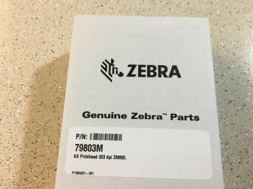 Genuine Zebra ZM600 Printhead 203 dpi PN (79803M) New Sealed