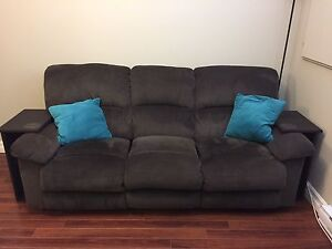 Reclining Couch and Love-seat Set