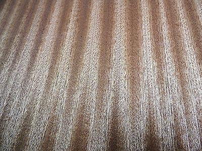 Sapele Ribbon Stripe Wood Veneer Sheets 14 X 23 Inches 4496-42