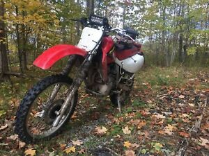 1997 Honda xr650l cash or trade