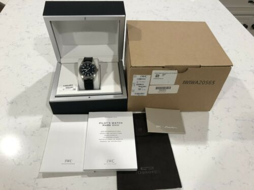 IWC Pilot Mark XVIII Black Dial - watch picture 1