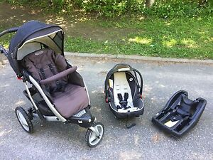 Graco carseat and stroller click connect combo