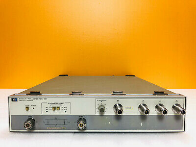 Hp Agilent 8748a 4 Mhz To 1.3 Ghz 50 Ohm S Parameter Test Set. Tested