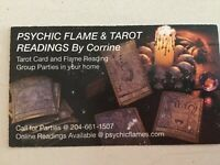 Psychic Flame & Witches Tarot Readings