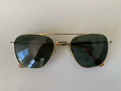 Randolph Engineering Aviator Sunglasses - 23k Gold Plated - Size Medium (Randolph Sunglasses Sizing)