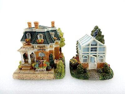 Liberty Falls Village, 1999 Rosie's Flower Shop & Rosie's Greenhouse Set