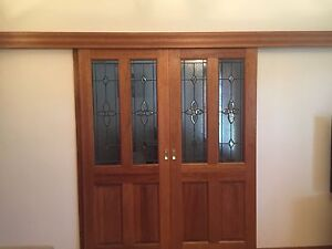 Solid lead light doors X 2 Glenelg North Holdfast Bay Preview