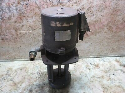 Graymills Coolant Pump Unit Type Mt 230v 14hp Cnc Mori Seiki Sl-1a Cnc Lathe