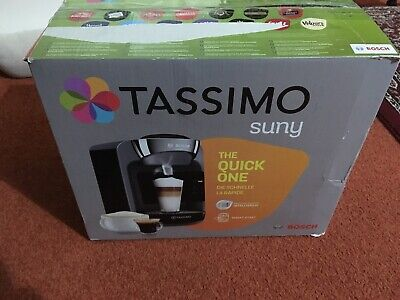 Bosch Tassimo Suny TAS3202GB Coffee Machine, New, Unused, Display Model - Black