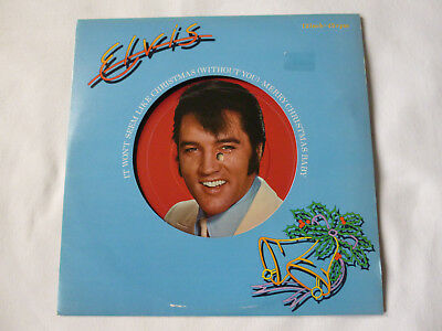 "ELVIS PRESLEY ~ IT WON'T SEEM LIKE CHRISTMAS(WITHOUT YOU) ~ UK 12"" VINYL SINGLE"