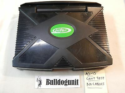 Intec Original Xbox Game System Lcd Screen Tv No Power Cord Or Video Cables
