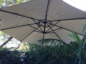 Cantilevered umbrella Earlwood Canterbury Area Preview