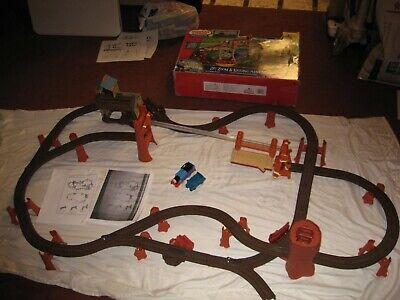 Thomas & Friends Motorized Train Railway Zip, Zoom & Logging Adventure Set Log
