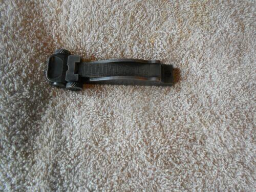 US Krag jorgensen model 1898 1894 rifle complete model 1902 rear sight w screws