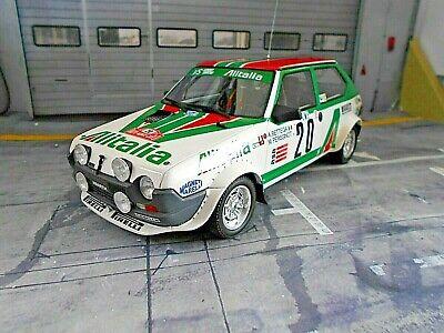 FIAT Ritmo Abarth Gr.2 Monte Carlo Rallye #20 Bettega Alitalia 1979 OTTO 1:18 na sprzedaż  Wysyłka do Poland