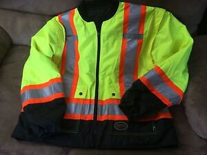 Spring/Fall high vis jacket. New Size XL