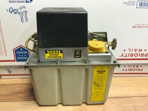 NICE VOGEL MKU2 KW6 LUBE OIL SYSTEM AUTOMATIC