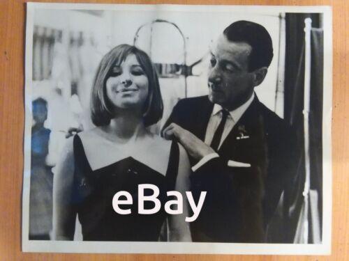 Barbra Streisand Don Loper Rare Vintage Original Photo