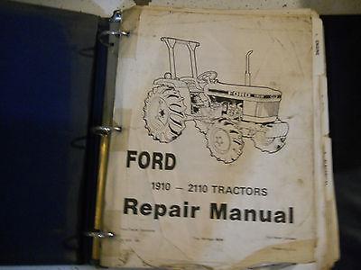 Ford 1910 2110 Tractor Service Repair Manual