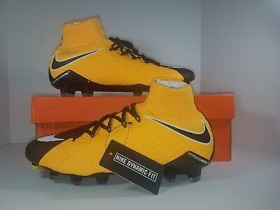 f568401d5a38 Nike Hypervenom Phatal 3 DF FG Soccer Cleats LaserOrange Black 852554801