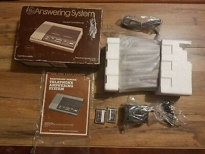 GE Micro Cassette Telephone Answering Machine  Model 2-9880A