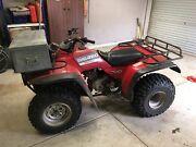 Honda Big Red Quad Bike. 300cc. 4 Wheeler. Swap?? Delacombe Ballarat City Preview