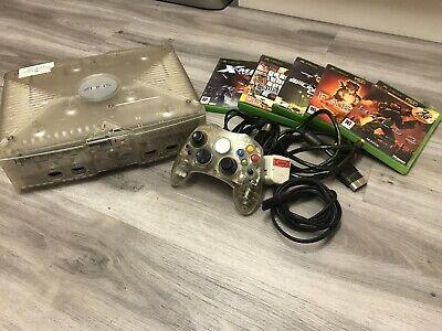 Xbox original Crystal Bundle