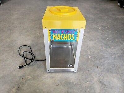 Nice Star 12ncpw 12 Nacho Chip Popcorn Warmer Merchandiser 7lb Capacity