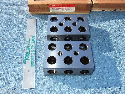 Mitutoyo 1x2x3 Blocks Toolmaker Machinist 961-921 Other Usa Made Blocks Here