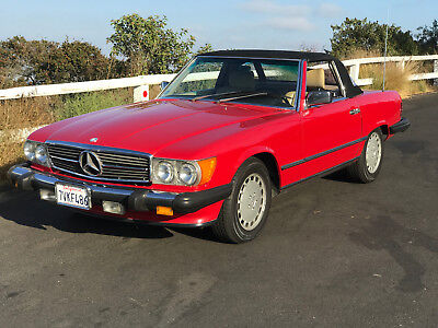 Image 22 of 1986 Mercedes-Benz SL-Class…
