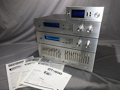 Vtg PIONEER AUDIO SG-9800 SR-303 RG-2 DT-400 Equalizer Amplifier Processor Timer