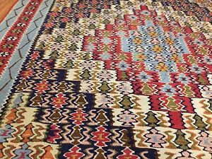 Wool Kilim Area Rugs Reversible - Best Serious Offer