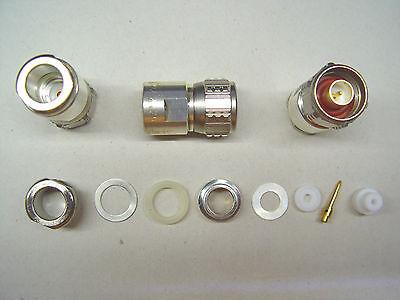 SPINNER N ( m ) BN 92 24 29 Stecker  für RG213/U + RG214/U Kabel Lötversion NOS