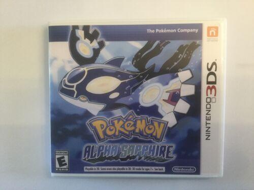 Replacement Case (NO GAME) Pokemon Alpha Sapphire - Nintendo 3DS