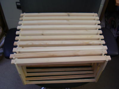 10  x  LANGSTROTH Bee Hive BROOD FRAMES