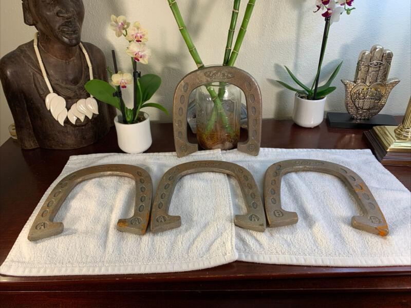 Vintage Halex Horseshoes 4 LOT Set Of Four RARE