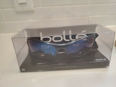 Bolle Safety Glasses Spider With Storage Bag And Keepers New In Box