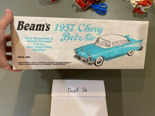 Jim Beam Sierra Gold 1957 Chevrolet Belair Hard Top Decanter Empty